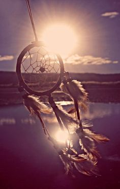 Dreamcatchers, I'd like a few around... one definately where we are saying our vows.