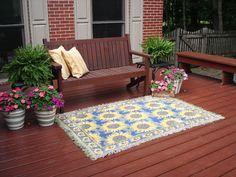 Garden deck a fabulous outdoor room