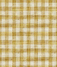 Child And Nursery, Stripe & Plaid and Check Yellow Gold Décor Fabric Coral Fabric, Linen Fabric, Traditional Curtains, Farmhouse Fabric, Chambray Fabric, Check Fabric, Teal And Gold, Robert Allen, Home Decor Fabric