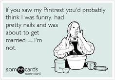 Ok, I am funny, have nice nails (thanks Pinterest, LOL) and am already happily married.... but you would think I have a fantasy home that sparkles and the closet of a princess... those I do not have :D