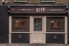 5IVE ... COFFEE HOUSE ... SANDWICH BAR