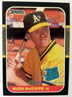 10 Best 1987 Donruss Baseball Cards Images In 2017 Baseball Cards