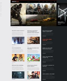 The Ultimate Redesign of the Gamer365 on Behance