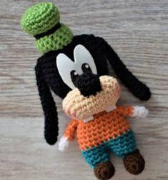 Crochet Bear, Thread Crochet, Crochet Animals, Crochet Dolls, Free Crochet, Amigurumi Patterns, Crochet Patterns, Crochet Mickey Mouse, Crochet Keychain Pattern