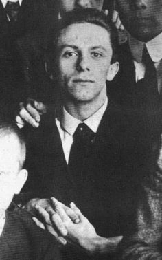 A young Goebbels, seen in 1916.
