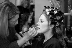 Wedding day make up and hair.