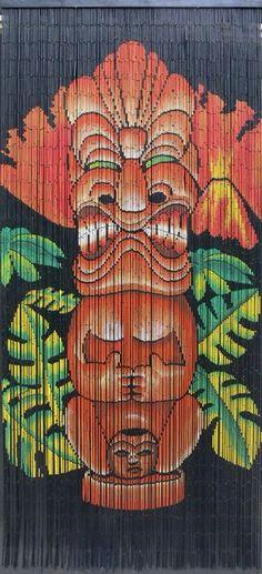 Oshi Tiki curtain