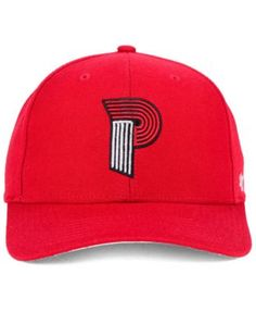47 Brand Portland Trail Blazers Mash Up Mvp Cap - Red Adjustable Branded  Caps 62cbb9a8d