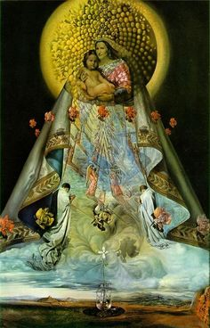 Christ of St. John of the Cross - Salvador Dali - WikiArt.org