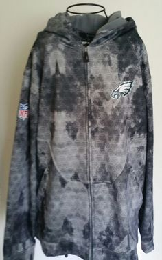REEBOK NFL Philadelphia Eagles zip frontHoodie Jacket Sweatshirt Zip Up Men's XL | Sports Mem, Cards & Fan Shop, Fan Apparel & Souvenirs, Football-NFL | eBay!