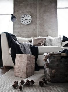 Cannot get enough of a grey wall!