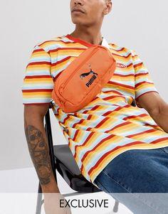 01854f06089993 Puma Bumbag In Orange Exclusive To ASOS Bum Bag, Sling Backpack, Fanny Pack,
