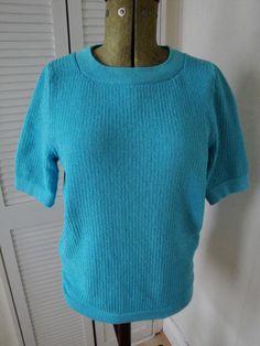 Tuck Stitch Top - knitting machine