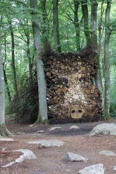 She Is Perfect — boredpanda: 10+ People Who Turned Log Piling...