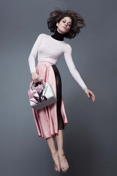 Marion Cotillard in the Lady Dior campaign. [Courtesy Photo]