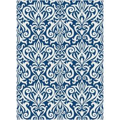 Tayse Rugs Metro Navy 7 ft. 10 in. x 10 ft. 3 in. Contemporary Area Rug-1097  Navy  8x10 - The Home Depot