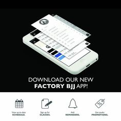 If you've not downloaded the free Factory BJJ app yet then why not?! Available on iTunes Android and we also have a paper version for those off the grid ;) #BJJ #FactoryBJJ #BJJinManchester #App