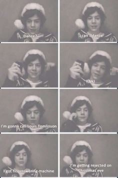 Louis birthday is on Christmas Eve and my birthday is the day after Christmas and watching this live stream it just made me cry