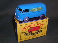 34-A Volkswagen Microvan Matchbox Cars, Train Set, Volkswagen, Youth, Young Adults, Teenagers