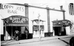 Sloppy Joe's from many a year ago...