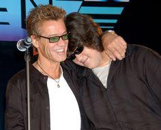 Eddie & Wolfgang Van Halen