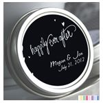 Personalized Tin Mints - Happily Ever After - Color Coordinated: ForeverWed, Wedding Favors