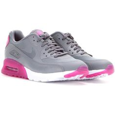 d5d090996f1a3 Nike Nike Air Max 90 Ultra Essential Sneakers ( 150) ❤ liked on Polyvore  featuring shoes