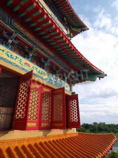 external features of ancient chinese architecture- all timber