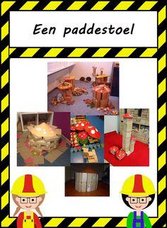 De bouwhoek: Bouwinspiratie Reggio Emilia, Diy And Crafts, Lego, Education, Fall, Mushroom, Autumn, Fall Season, Onderwijs