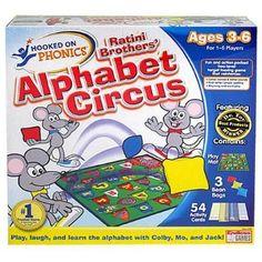 Alphabet Circus game