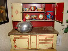 vintage toys | Vintage toy kitchens - a gallery on Flickr
