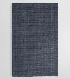 Cost Plus World Market Charcoal Gray Jute Boucle Area Rug