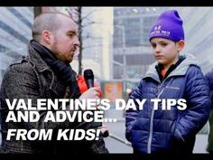 Guy Interviews Kids About Valentines Day - #funny #cute