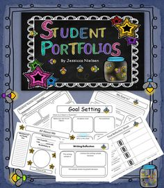 This student portfolio is meant to get students thinking about their growth as learners, about what they are learning, how they are learning, and how to become better learners.
