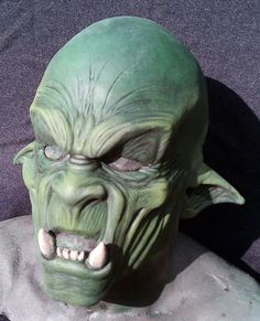 Orc latex mask. $29.95, via Etsy.