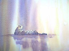 "Cheetah Painting. ""Duma' by Alison Nicholls."