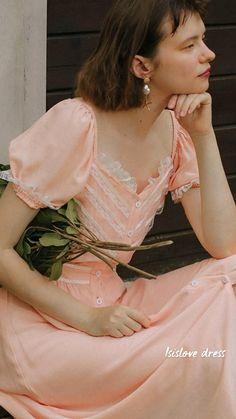 Retro Fashion, Vintage Fashion, English Cottage Style, Romantic Outfit, Mori Girl, Chicano, Parisian Style, Feminine Style, Vintage Dresses