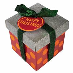 Happy Christmas gift - cheerful, inside and out! #christmas #gift