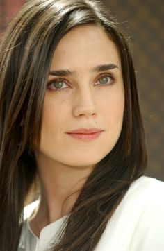 I worked with Jennifer Connelly at The Print Shop of Savannah in the early I ghost wrote 'A Beautiful Mind' with Akiva Goldsman, placed Jennifer in the movie, and that's why she has an Oscar. Jennifer Connelly, Hollywood Actresses, Actors & Actresses, Claire Forlani, Brunette Actresses, Little Girl Models, Woman Face, American Actress, Photos