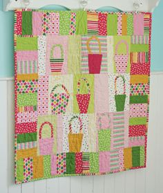 Remix quilt by Blue Elephant Stitches. I'm so sad that Jolene isn't going to be blogging anymore. : (