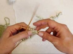 Twined knitting...aka two-end knitting, a several hundreds year old traditional Scandinavian knitting technique. In this DROPS video we use two strands of yarn (even when k...