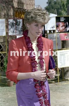 February 11 1992 Princess Diana made a solo visit to a desert town called Agra, in Rajasthan. The town was best known for its monument to love, the Taj Mahal, where Diana was scheduled to visit. Before setting off to go sight-seeing she visited a welfare centre for mothers and babies, set up by the Marie Stopes association.