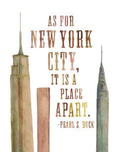 A Place Apart Print❤️