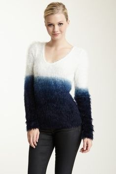 Feathered Pullover