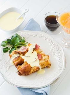 Gluten Free Eggs Benedict Strata | Gluten Free Recipes | Blog | Nov. | Simply Gluten Free