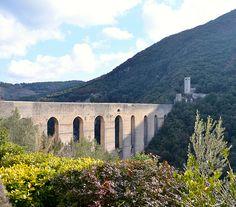 SPOLETO  A Spoleto si va a nascondere un famoso Festival delle arti, del canto, del teatro e del bello del mondo intero:  quando invece bisognerebbe zittirsi, arrivare sulla collina, passare il ponte e godersi il vento nel bosco buio: il ruggito mitico di un infinito mistero