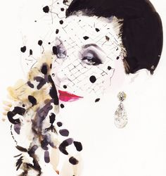 David Downton Portraits | THE VIOLET FILES | @violetgrey