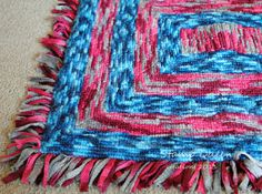 Soft, soft,soft and cushy - locker hook rug