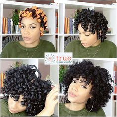 @thenotoriouskia My quick & easy perm rod set video is now live on my…