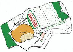 Krispy Kreme Doughnut by hwayoungjung, via Flickr